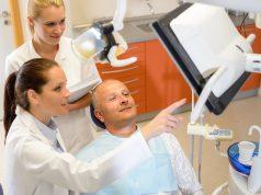 Paciente en la consulta del dentista